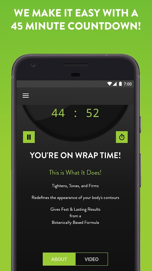 It Works! Wrap App- screenshot