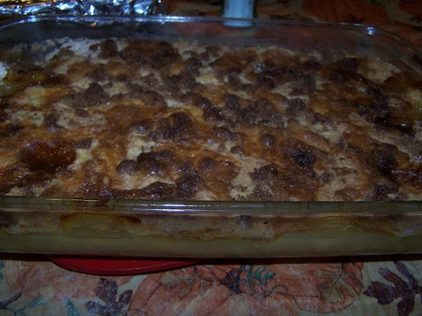 Bake in 375 degree oven for 45-50 minutes.