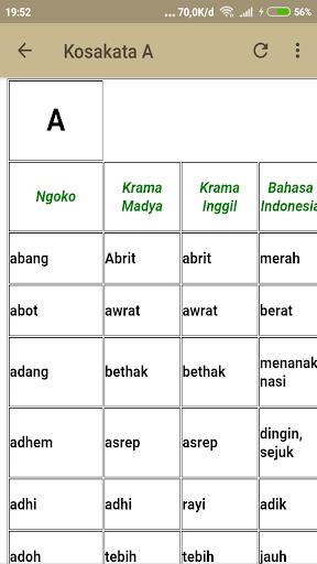 Kamus Lengkap Bahasa Jawa 1.2 screenshots 2