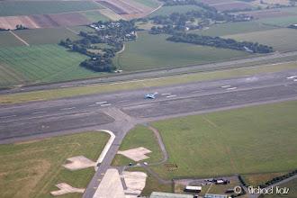 Photo: Grunnen til expedited departure: Et KLM-fly fra Amsterdam som skulle lande (eneste ruten til Manston).