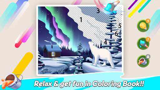 Home Paint: Color by Number & My Dream Home Design android2mod screenshots 5