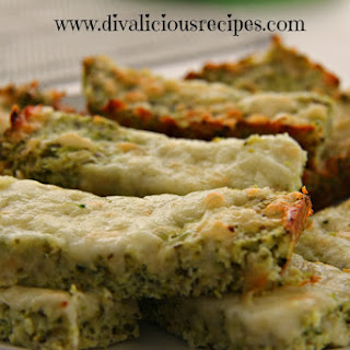 Low Carb Broccoli Cheesy Breadsticks.