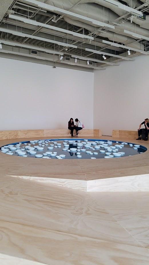 Soundtracks at SF MOMA, Céleste Boursier-Mougenot's clinamen v.3.