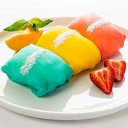 Rainbow Warhol Pockets (Mango, Strawberry Banana, plus Blueberry Crumble or Apple Pie)