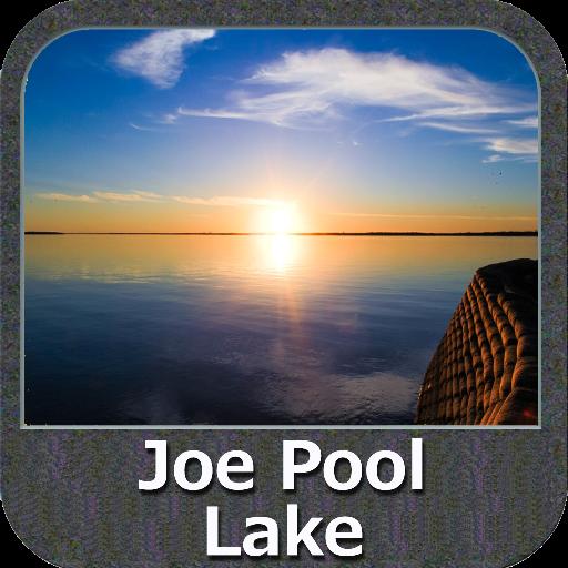 Lake Joe Pool Texas GPS Charts