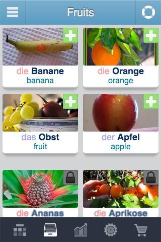 Learn German - 3,400 words screenshot 1