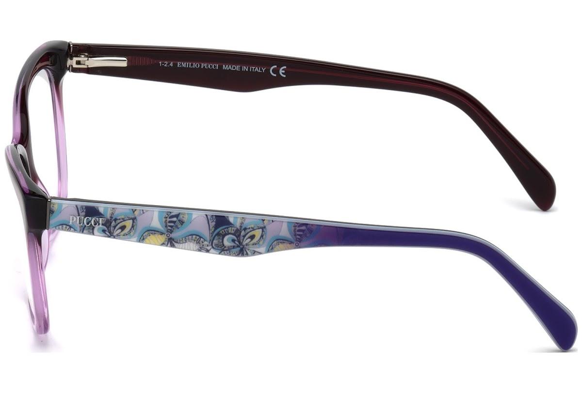 08d8f40cdff Buy Emilio Pucci EP5014 C55 083 (violet other   ) Frames
