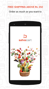Satvacart - Grocery Shopping- screenshot thumbnail