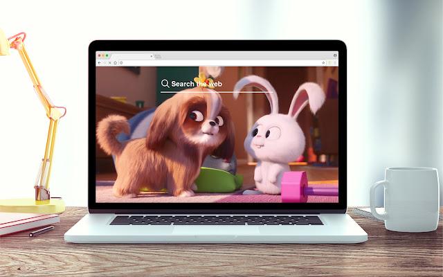 Secret Life of Pets 2 New Tab Theme