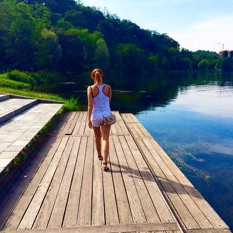 Verso la serenità della natura..il mio punto di fuga di Samia