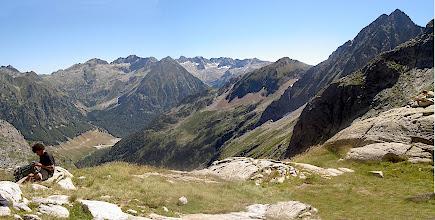 Photo: La vista des del refugi de Mulleres (2.630 m)