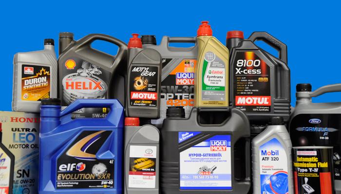 Моторные масла для автомобилей