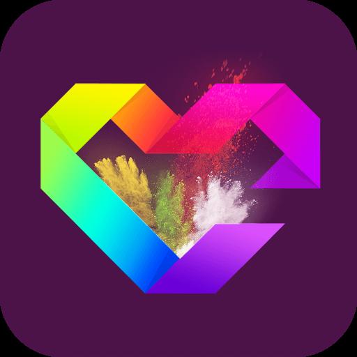 心情卡片-壁纸 個人化 App LOGO-硬是要APP