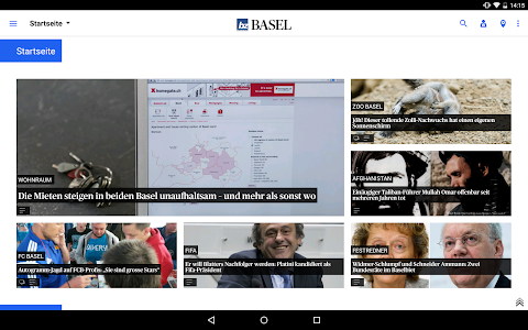 bz Basel News screenshot 5