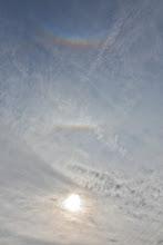 Photo: Na niebie ciekawe zjawiska.