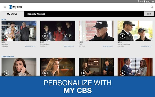 CBS- screenshot thumbnail