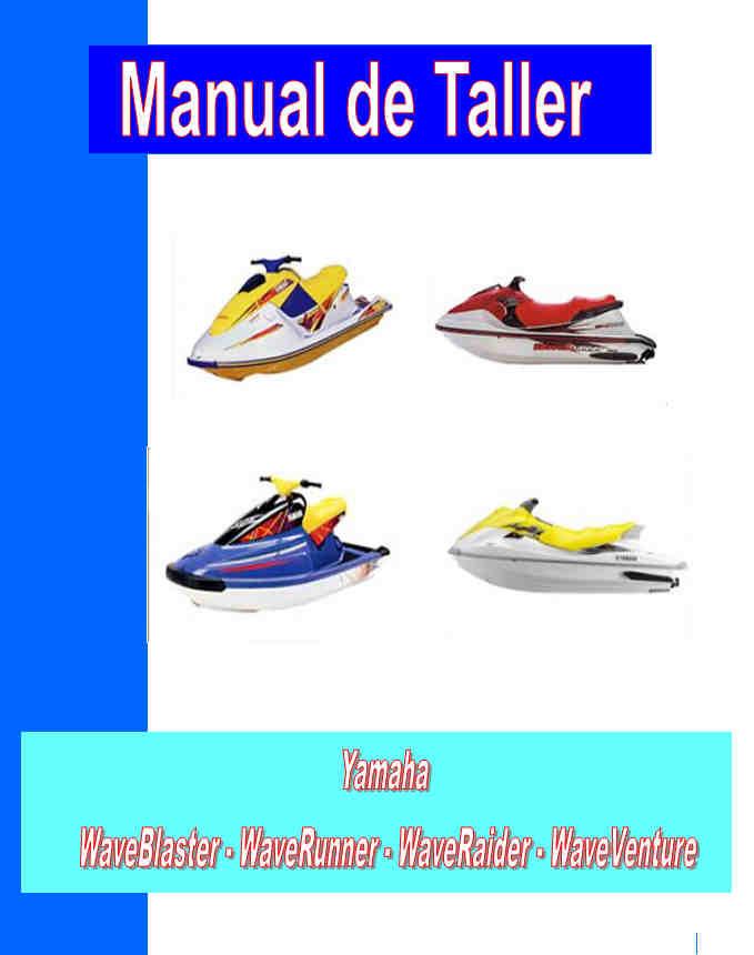 moto de agua yamaha manual taller - servicio- mecanica y despiece