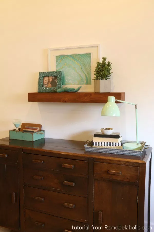 Floating Shelves: These will help you make some money.