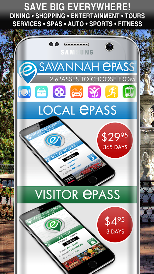 Savannah ePASS- screenshot