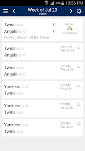 Baseball Schedule for Twins: Live Scores & Stats - náhled
