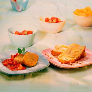 Süßer Kartoffel-Ricotta-Auflauf mit Aprikosen