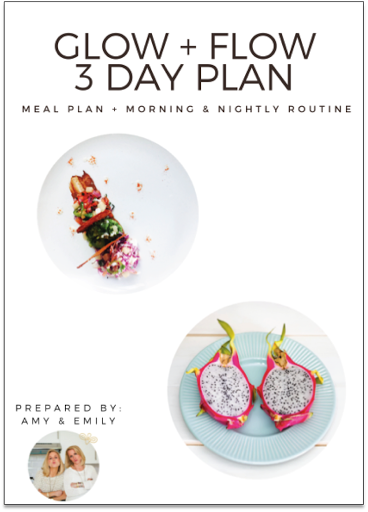 Download our G+F 3 Day Plan!