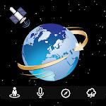 Globální žít Země mapy : jeo rychloměr 2018 Icon