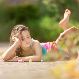 summer 2018 by Tami James - Babies & Children Children Candids ( relaxed, mygirl, 2018, summerdresses, summer, summersun, pavementchalk, lovinglife )