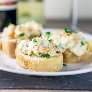 Crusty Baguette with Seafood Spread Recipe