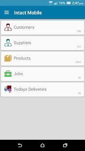 Intact Mobile screenshot