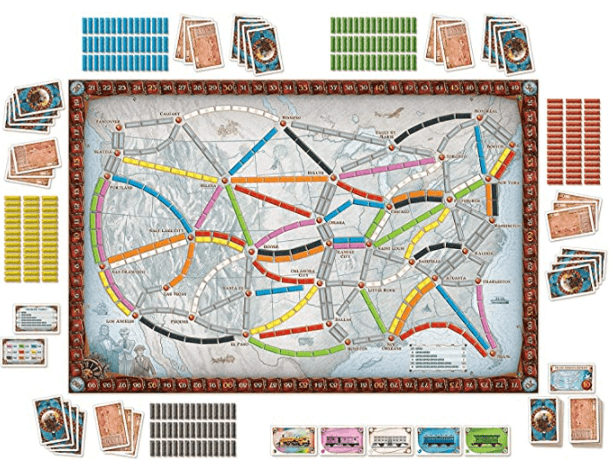 ticket to ride game play are