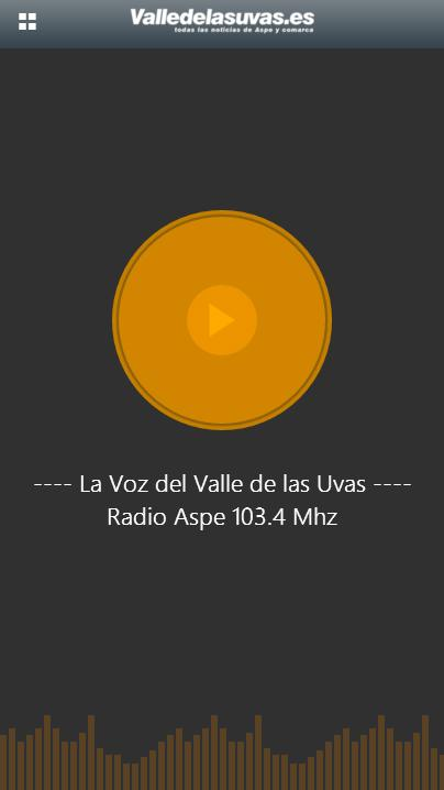 Radio Aspe · Valledelasuvas- screenshot