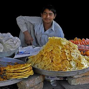 Shop keeper  by Ghazan Joyia - People Professional People (  )
