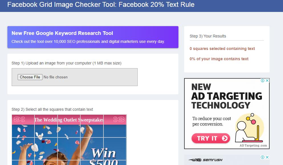 A simple Facebook online video tool.