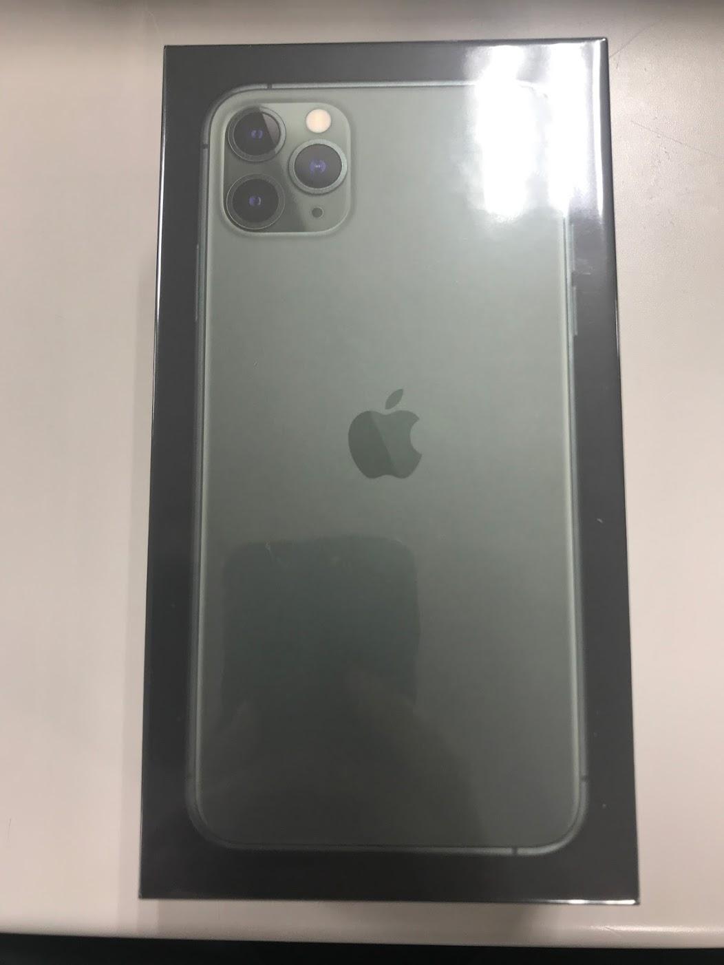 iPhone11 Pro Max外箱