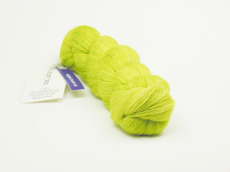Malabrigo Lace, Apple Green 11
