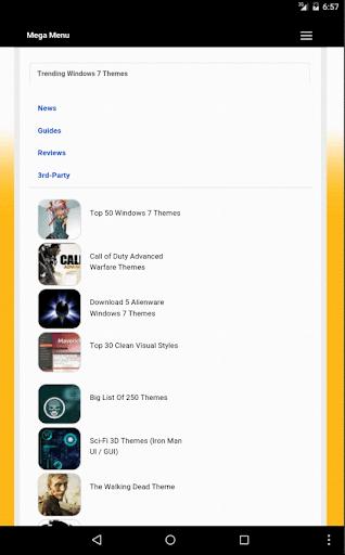 Windows Themes Net App