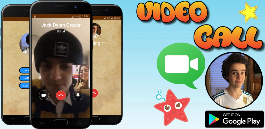 Jack Dylan Grazer Video Call *OMG HE'S SO FUNNY 1 1 Apk Download