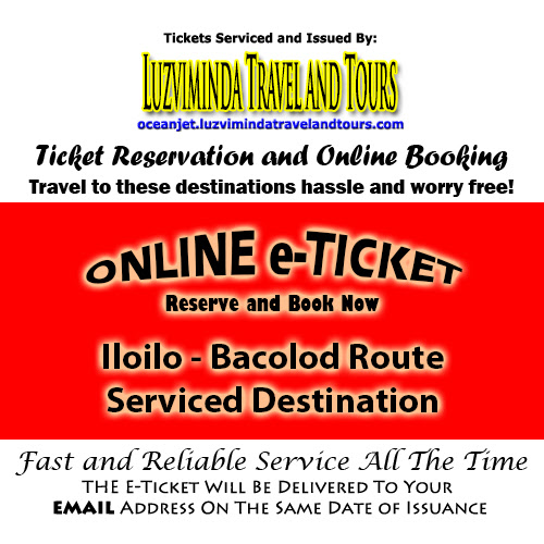 OceanJet Iloilo-Bacolod Ticket Reservation and Online Booking