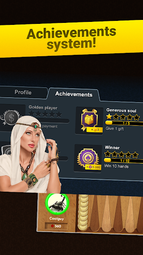 Backgammon Long Arena: Play online backgammon! screenshot 3