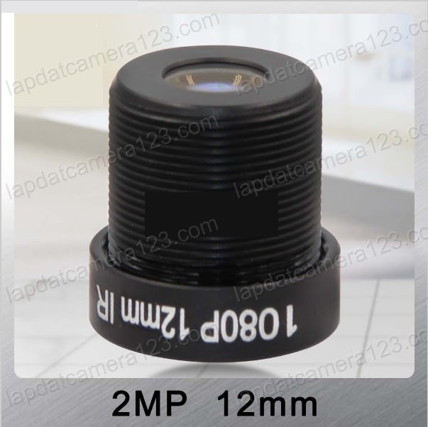 ống kính camera 12mm zoom gần 4 lần