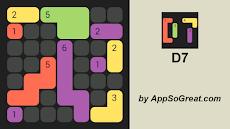 D7:7ごとに色付きのドミノをパックします。無料のカジュアルゲーム。のおすすめ画像3