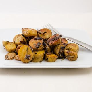 Pan Roasted Lemon Rosemary Potatoes
