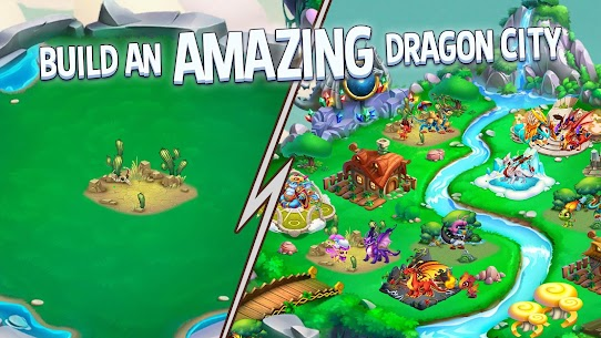 Dragon City MOD APK 10.6.1 [One Hit] 1
