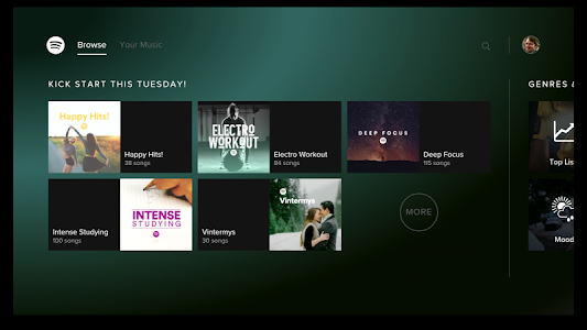 Spotify Music - for Android TV v0.8.6 Mod
