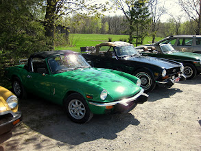 Photo: Triumph Spitfire de Michel Authier