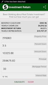 Investment Return screenshot 2