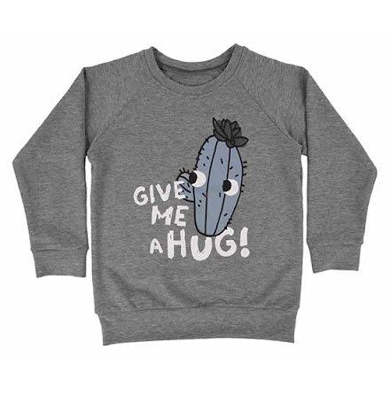 Dear Sophie Grey Cactus Sweatshirt
