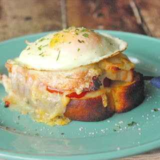 Croque Monsieur with Roasted Turkey