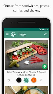Twigly - Tasty Food Delivered- screenshot thumbnail